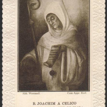 I santini del beato Gioacchino da Fiore