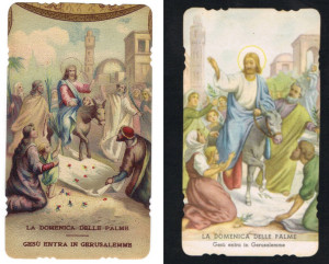 A sinistra l'immagine pubblicata da C.G.. A destra l'edizione fustellata della ED.G.MI