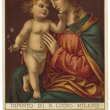 Santa Lega Eucaristica: le immaginette di serie e le fuori-serie