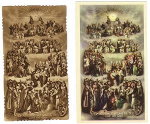 L'immagine n. 135 nelle due serie a confronto