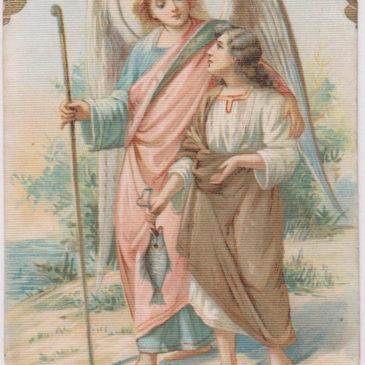 Angeli e Arcangeli raffigurati nei santini