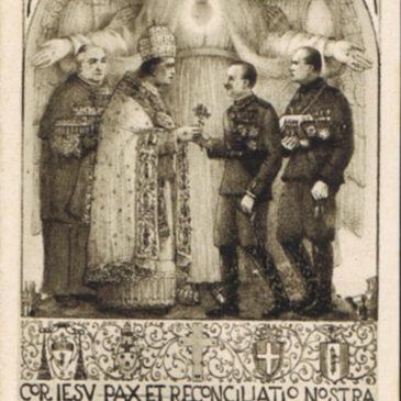 I santini dei giovani fascisti
