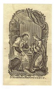 Incisione a bulino su carta vergellata. XVIII sec. Coll. P. Sacchi