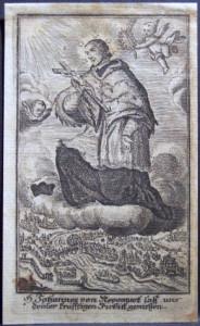 Incisione all'acquaforte su carta vergellata. Prima metà del XVIII secolo. Coll. P. Sacchi