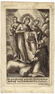 L'incisione realizzata da W. D. Gutwein agli inizi del XVIII secolo