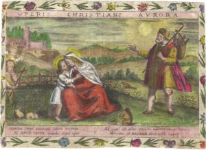 Incisione a bulino su pergamena. Gaspar Grispoldi, Venezia, inizi XVII sec. Coll. Gamba