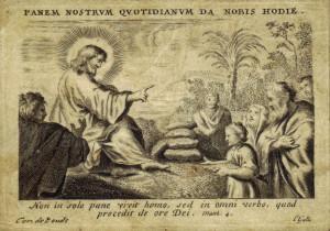 Incisione in taglio dolce su pergamena, realizzata dal fiammingo Cornelius Galle agli inizi del XVII sec.