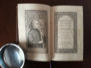 Alcune illustrazioni del libro: Imitazione di Cristo