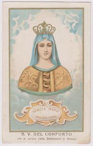 B. V. del Conforto, che si venera nella Cattedrale di Arezzo
