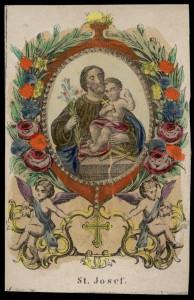 Xilografia colorata a mano. Joseph Koppe. Praga, metà XIX sec.