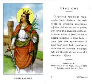 Il santino raffigurato è stato stampato da Egim negli anni 2000, eppure porta un imprimatur con data 1898