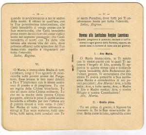 pagine interne dell'opuscolo