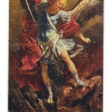 San Michele Arcangelo: fascista o partigiano?