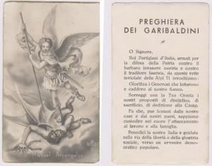 La preghiera del Partigiano a San Michele Arcangelo, protettore