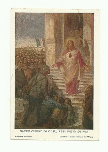 L'immaginetta, sempre pubblicata da Alfieri & Lacroix di Milano, presenta una diversa didascalia