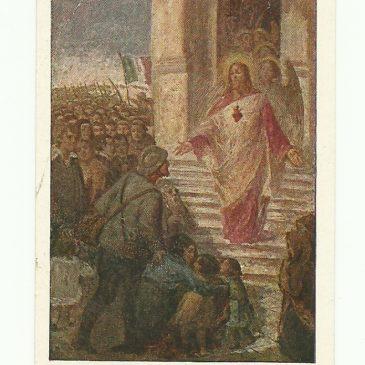 O Gesù, proteggi solo i soldati della Triplice Intesa!