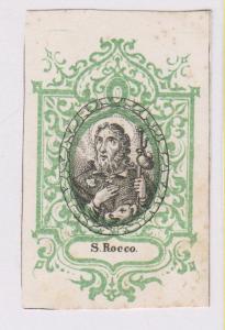 altro esempio di xilografia, con cornice litografica verde