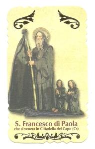 San Francesco di Paola, Serie I, Fars