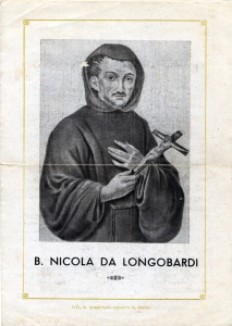 Santino San Nicola con i baffi