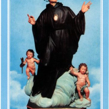Un paradiso di carta: i santini di San Nicola Saggio da Longobardi