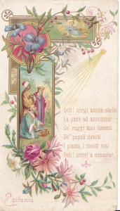 Cromolitografia italiana di fine XIX secolo