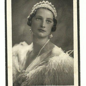 Pio ricordo di Sua Maestà Astrid, Regina dei Belgi