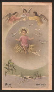 Santino della Serie Z della AR. Immagine n. 1. Anni 50.