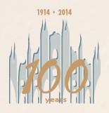Il nuovo logo per ricordare i 100 anni di attività