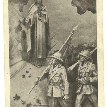 I messaggi dei nostri soldati sui santini