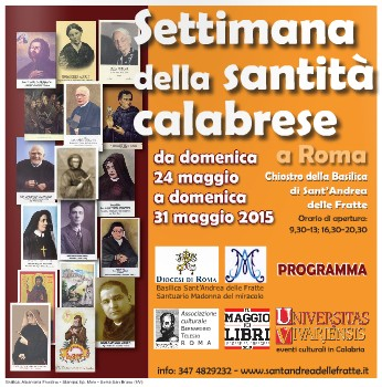 """Compie quattro anni la mostra """"Santi, santità e santini di Calabria"""""""