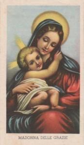 L'immagine n. 142 risulta il santino più raro della Serie Isonzo