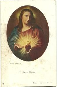 Calendarietto del 1933 edito dalla Casa dell'Arte Cristiana di Milano