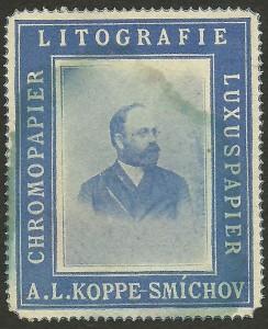 Immagine tratta dal libro  I Santi dei Koppe. Ritratto di Alexander Leopold, figlio di Leopold e nipote del fondatore Joseph Koppe.