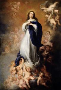 Il dipinto a Olio di Bartolomè Esteban Murillo (fonte: web)