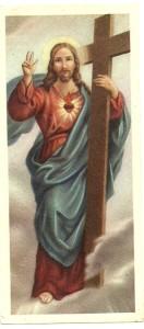 Un santino stampato da ALMA per i frati del Presbyterium di Padova