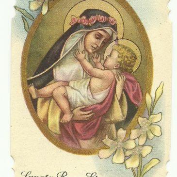 I santi con Gesù Bambino in braccio