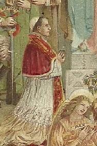 Benedetto XV posò per il pittore Carlo Donati