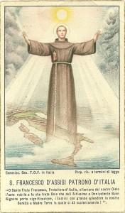San Francesco d'Assisi Patrono Italia