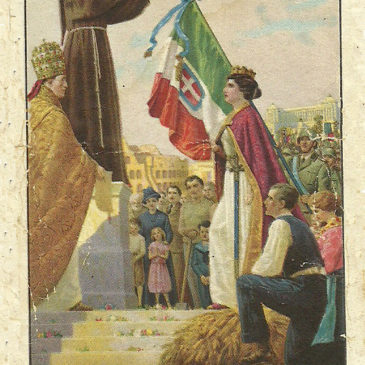 Anno 1939: proclamazione di San Francesco d'Assisi a Patrono d'Italia