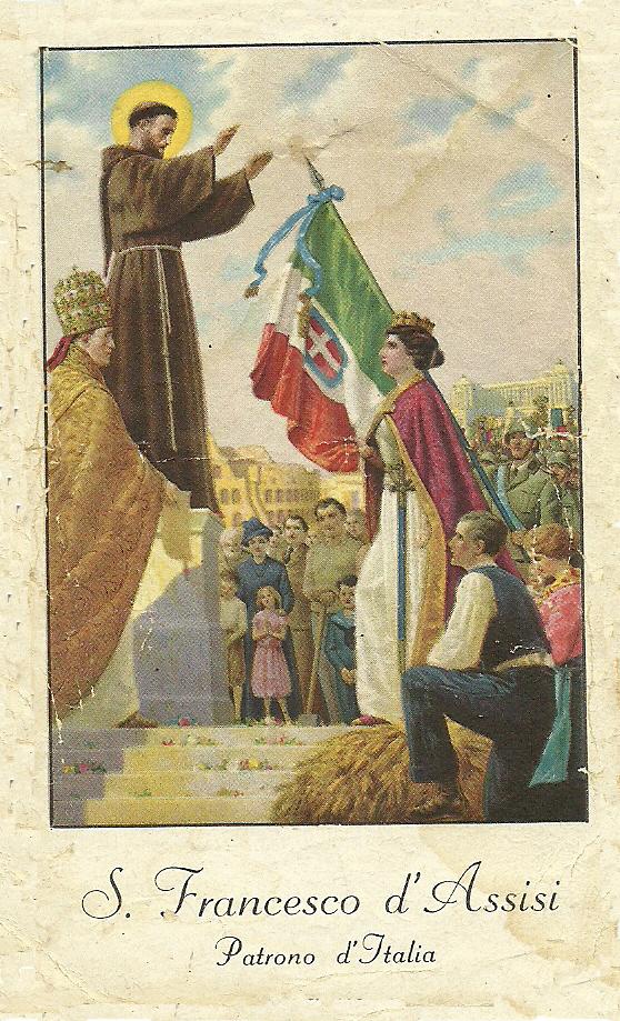 Risultati immagini per San Francesco patrono d'Italia