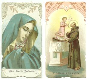 Due santini della Serie regolare