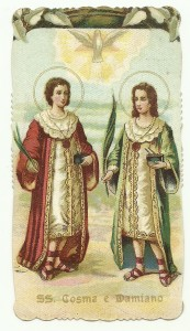 santino su cara telata