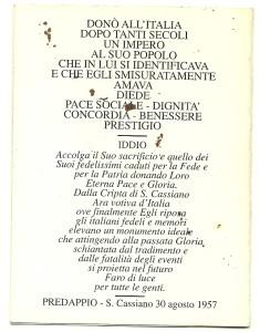 luttino di Mussolini