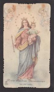Il santino n. 2200 dell'AR