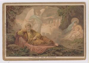 Sogno di Giuseppe. Immagine n. 18 della Serie A.T. (Antico Testamento)