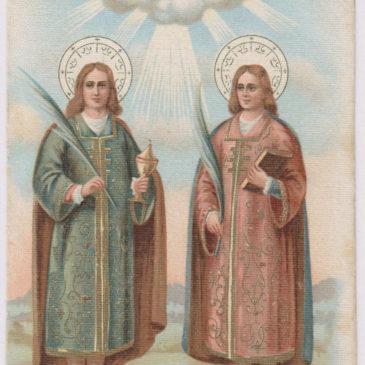 I Santi Medici e l'Eremo dell'Eros (parte II)