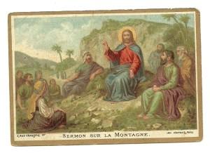 Il Discorso della Montagna. Immagine n. 32 della Serie N.T. (Nuovo Testamento)
