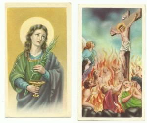 Serie 3000 nei due formati lisci. L'immagine n. 3011 (grande) e la n. 3045 (piccolo)