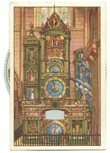 Cartolina meccanica. Francia. Edizioni LUIB & C. Metà XX.