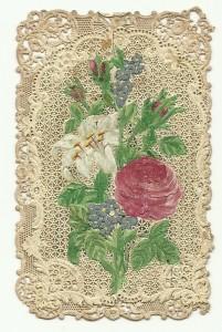 """Un'immaginetta di tipo """"a sorpresa"""" realizzata dall'editore parigino Villemur intorno alla metà del XIX secolo. Misure: cm 6,5 x 10,2"""